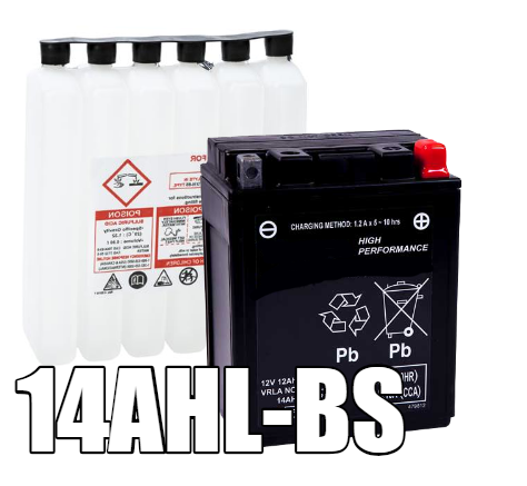 14AHL-BS AGM Maintenance Free Battery