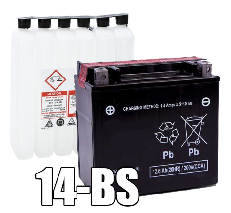 14-BS AGM Maintenance Free Battery