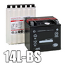 LTX14L-BS, YTX14L-BS AGM Motorcycle/ATV Battery