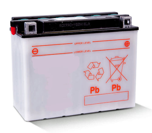 L50N18L-A Dry Charged Battery: Acid Required