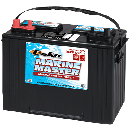 DC27 Flooded Deka Heavy-Duty Deep Cycle Battery