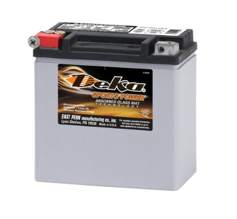 ETX12, Deka Power Sports Battery