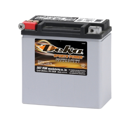 ETX14, Deka Power Sports Battery