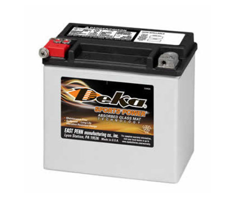 ETX16, Deka Power Sports Battery