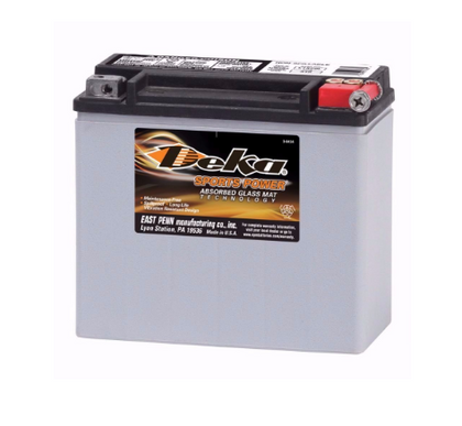 ETX16L, Deka Power Sports Battery