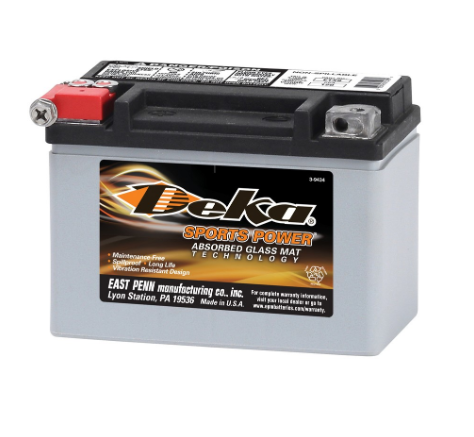 ETX9, Deka Power Sports Battery