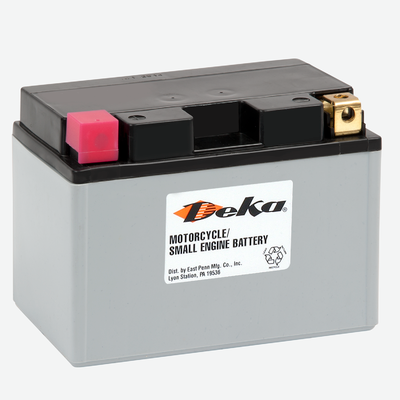 ETZ10S, Deka Power Sports Battery