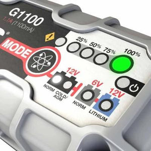 G1100 6V & 12V 1.1A UltraSafe Battery Charger and Maintainer