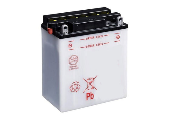 LB12AL-A Dry Charged Battery: Acid Required