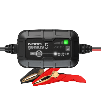 NOCO GENIUS5-Amp Battery Charger, Battery Maintainer, and Battery Desulfator