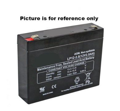 LP12-2.8 SLA Battery