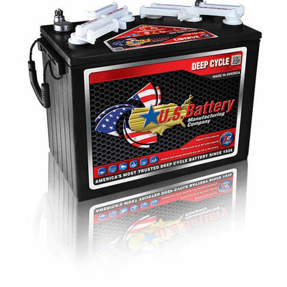 US12VE XC2 12V GC12 Golf Cart Battery