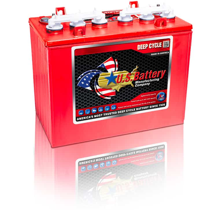 US12VRX XC2 12V GC12 Golf Cart Battery