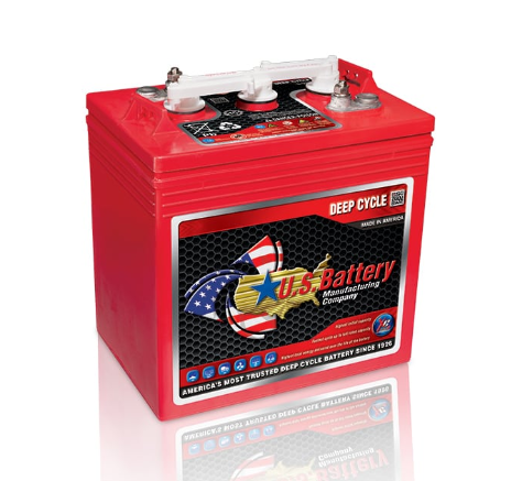 US125 XC2 6V Golf Cart Battery