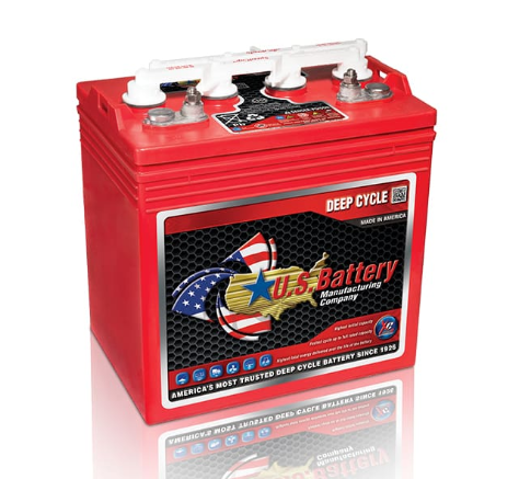 US8VGCHC XC2 8V Golf Cart Battery