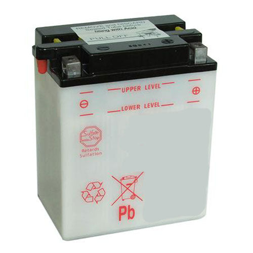 LB14L-A2 Dry Charged Battery: Acid Required