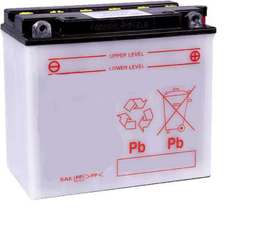LB16L-B Dry Charged Battery: Acid Required