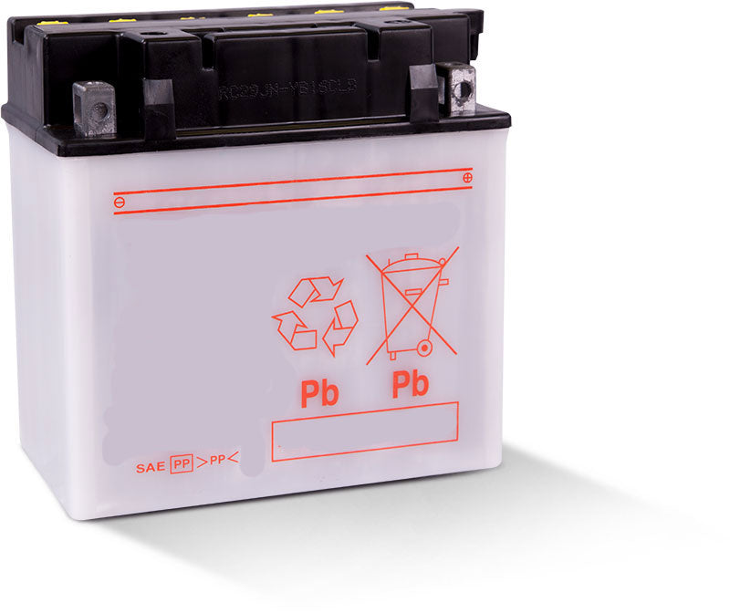 LB16CL-B Dry Charged Battery: Acid Required