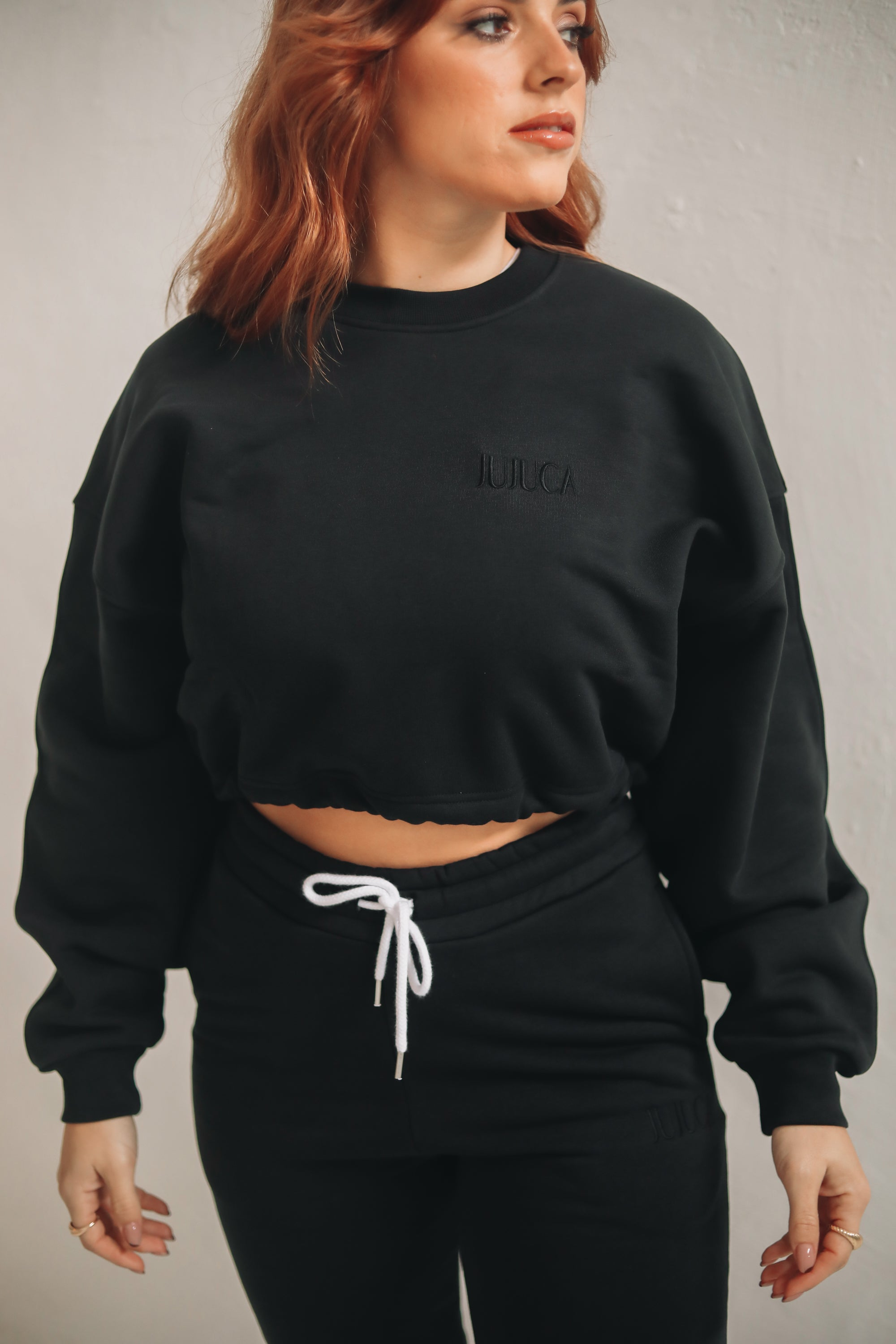 SWEATER CROPPED BLACK