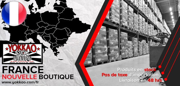 Announcing the Launch of YOKKAO France Website