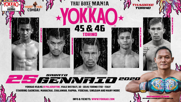 Breaking: First Six Fighters Announced for YOKKAO 45-46!