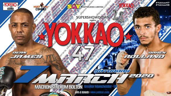 YOKKAO 47: DEAN JAMES vs DAREN ROLLAND