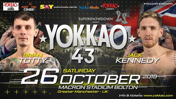 YOKKAO 43: Brian Totty vs Jack Kennedy