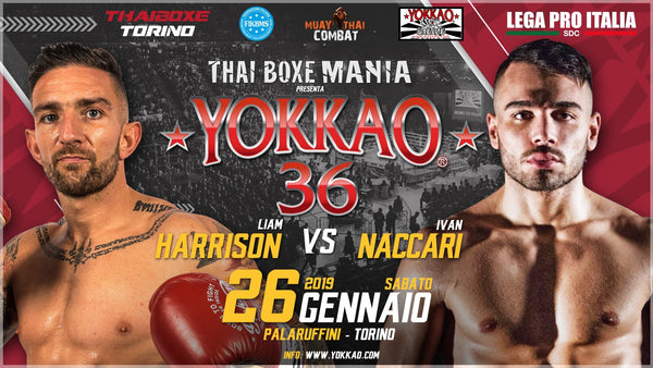 YOKKAO 36: Harrison Takes On Naccari In Anticipated Return