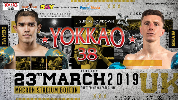 Christopher Shaw Steps In To Face Rambo For YOKKAO 38