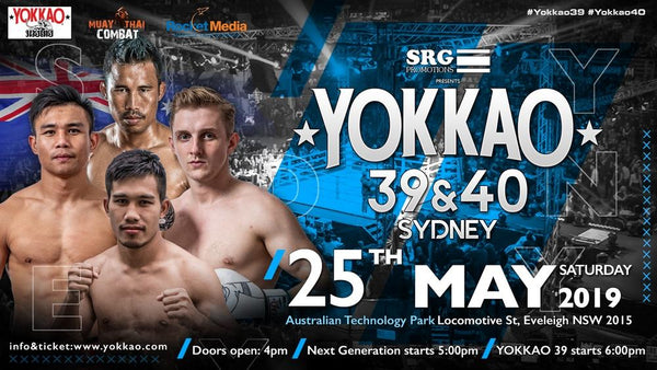 YOKKAO Fight Team Stars to Headline Sydney Double Event