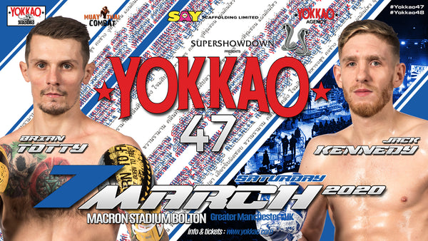 Brian Totty vs Jack Kennedy Rematch at YOKKAO 47