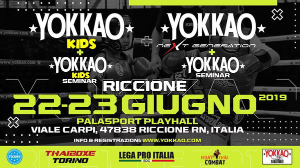 YOKKAO Seminar with Harrison at YOKKAO Riccione 2-day Event