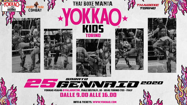 YOKKAO KIDS RETURN TO TURIN ON 25 JANUARY 2020