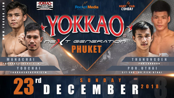 Manachai & Yodchai Fighting This Sunday in Phuket!