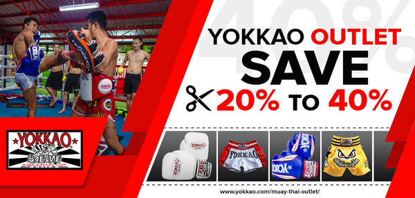 YOKKAO Launches Online Muay Thai Outlet!