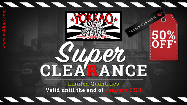 YOKKAO Launches Super Clearance Sale up to 50% Discount!