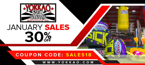 YOKKAO SALES: 30% Storewide to Kick Off the New Year!