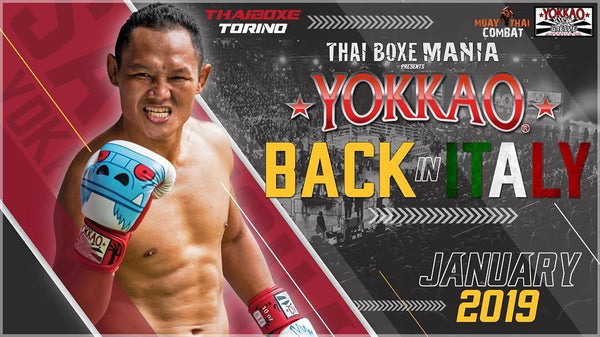 YOKKAO Official Event Confirmed for Italy January 2019!