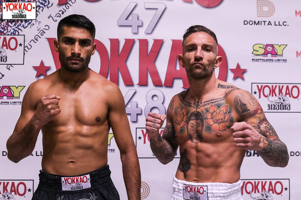 YOKKAO 47-48 Weigh-in Results