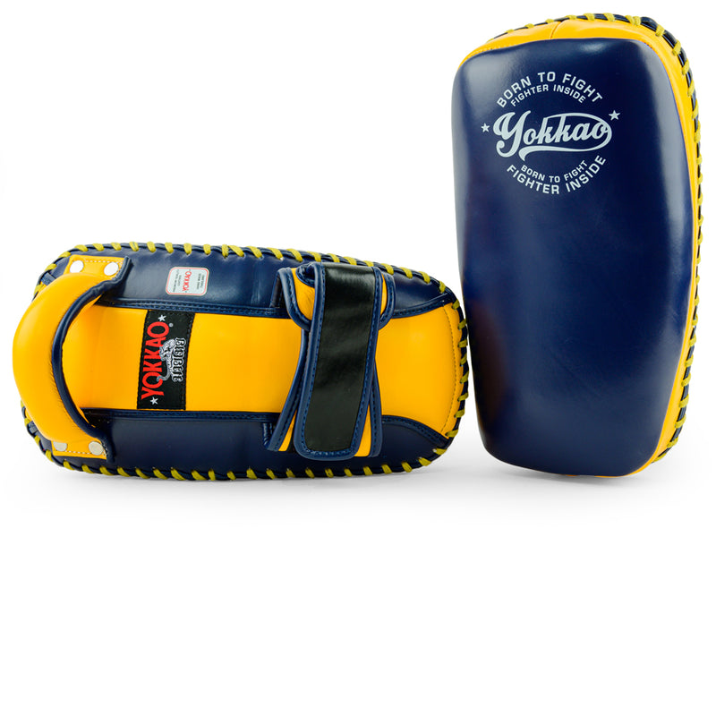 Free Style Kicking Pads Evening Blue/Gold Fusion