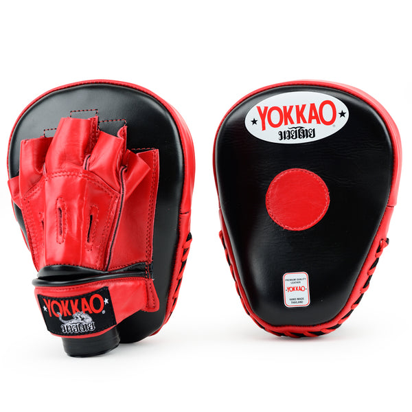 Focus Mitts Open-Finger Black/Red