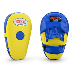 Long Focus Mitts Microfiber Yellow/Blue