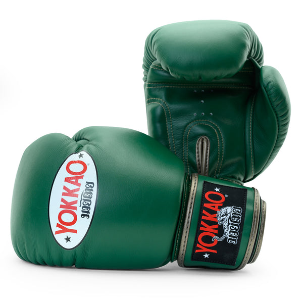Matrix Eden Green Boxing Gloves For Kids