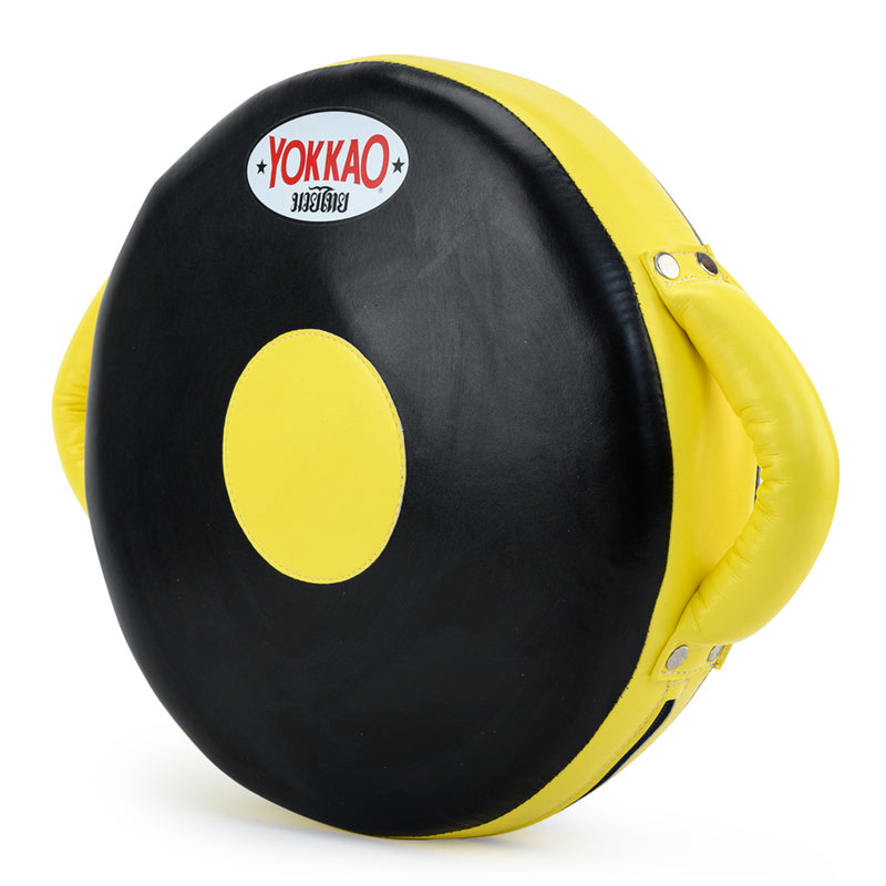 Round Punching Pad Black/Yellow