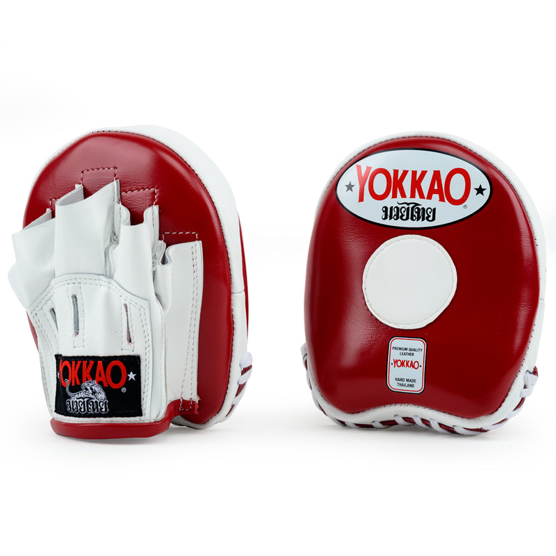 Focus Mitts Small Biking Red/White