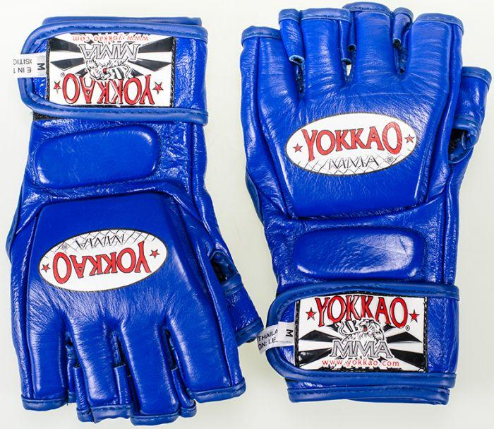 YOKKAO Blue Competition MMA Glove With Thumb