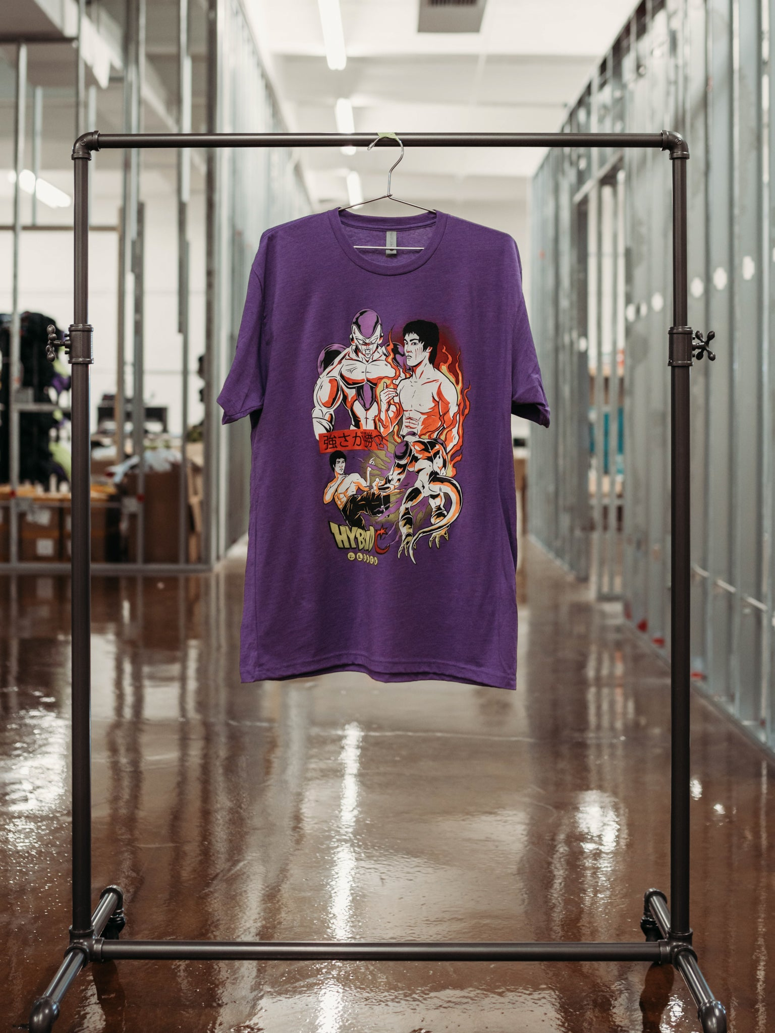 Hybrid Frieza VS Bruce Lee T-Shirt