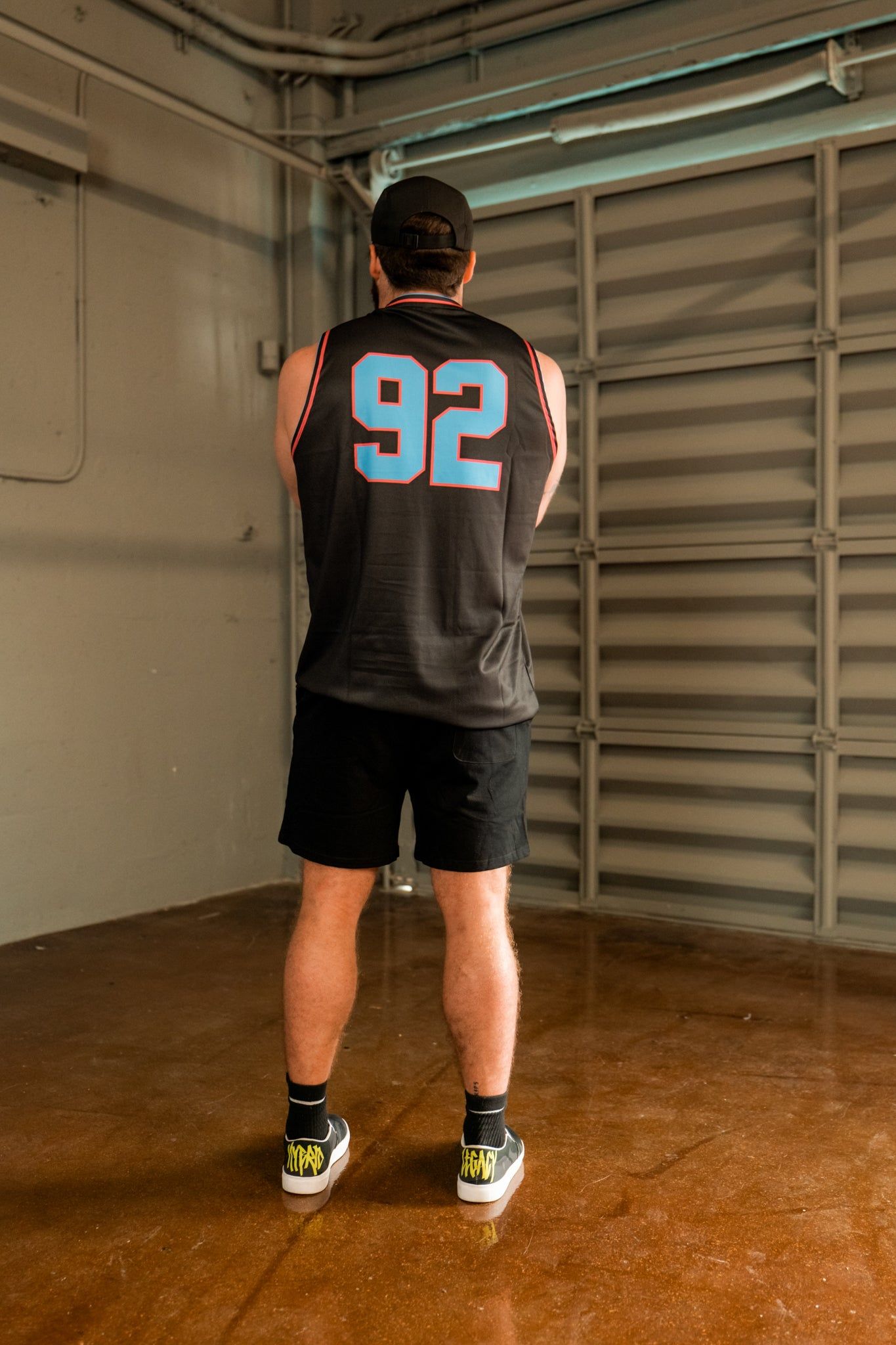 Miami Vice Basketball Jersey