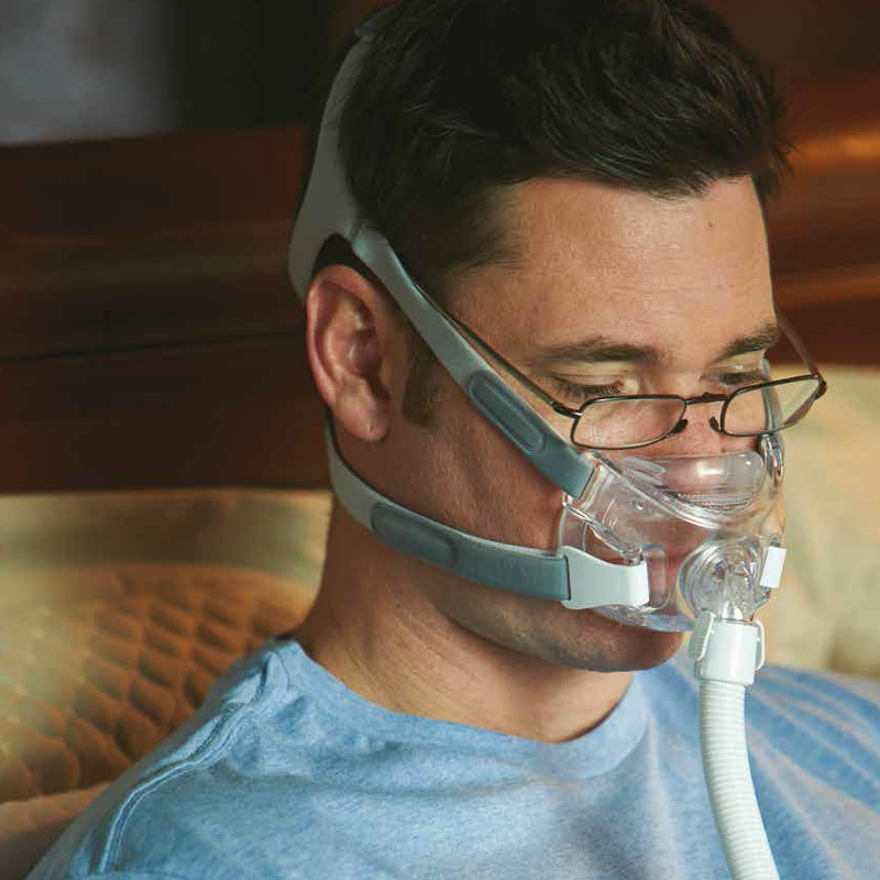 Amara View Full Face CPAP Mask Fit Pack by Philips Respironics