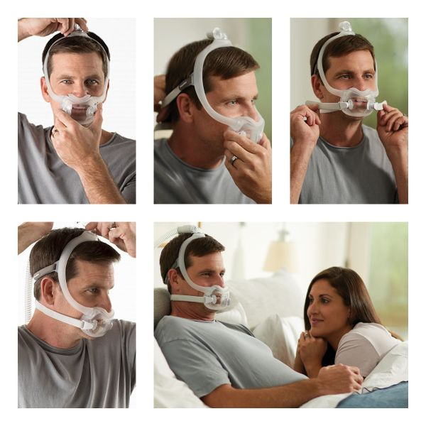 DreamWear Full Face CPAP Mask System Fit Pack by Philips Respironics